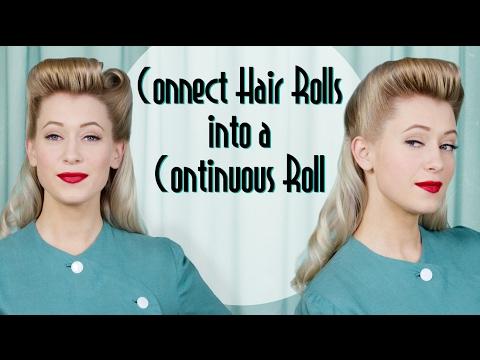 How To Vintage Look Hairstyle Videomoviles
