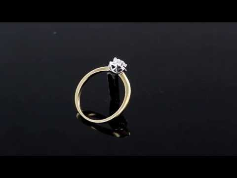 Browns Family Jewellers 18 carat gold diamond cluster ring