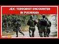 Jammu and Kashmir: An encounter rages on between terrorists and forces in Pulwama district