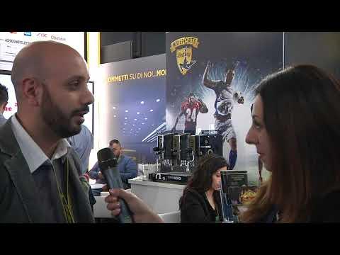 Marco Mandolesi (Mideporte) a Enada Rimini 2018