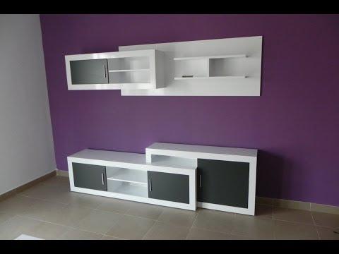 Industrias cm instalacion modulos de cocina hd musica for Mueble giratorio 08