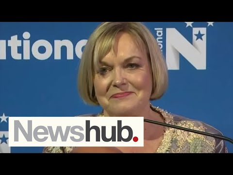 National's Judith Collins congratulates Jacinda Ardern on election result in speech | Newshub