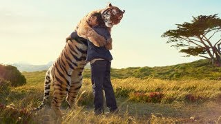 10 UNBELIEVABLE Bonds Between Humans And Wild Animals!