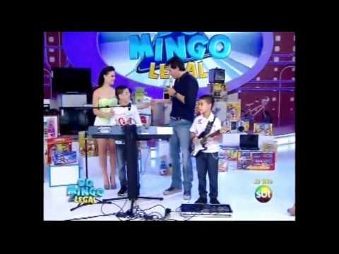 Andersinho dos teclados pela 4ª vez no Domingo legal ao vivo 22/04/2012