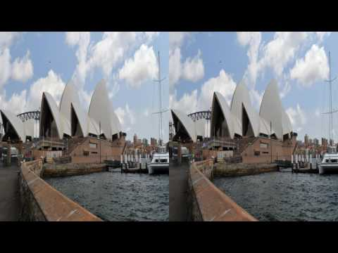 4K3D Sydney, 2160p, SBS, for active 3D-TV by Roman Klein