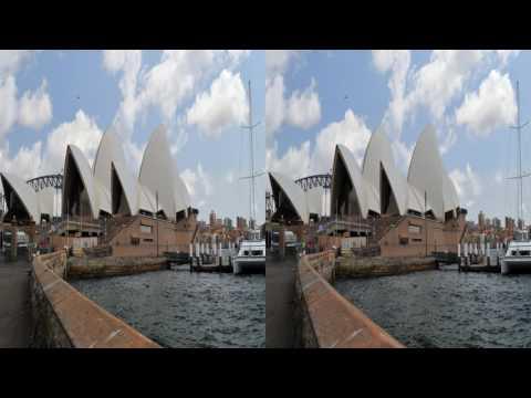 4K3D Sydney, 2160p, SBS, for active 3D-TV by Roman Klein