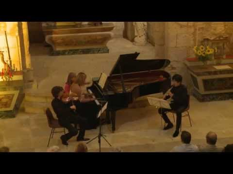 Mozart: Trio in Eb major KV 498 'Kegelstatt' - Trio Cézanne - 1/3