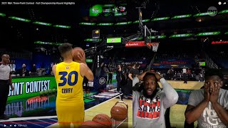 HES CLUTCH! 2021 NBA Three-Point Contest - Full Championship Round Highlights
