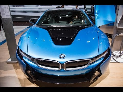 Inside the i8, BMW's First Hybrid Electric Car