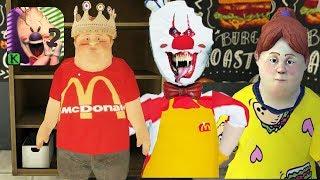ICE SCREAM EPISODE 2 McDonald's (IOS ANDROID)