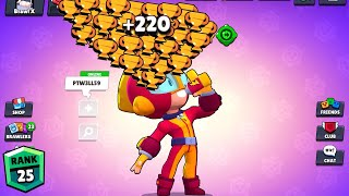 MAX NONSTOP to 750 TROPHIES! Brawl Stars