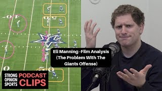 Eli Manning Film Analysis (The Problem With The Giants Offense)