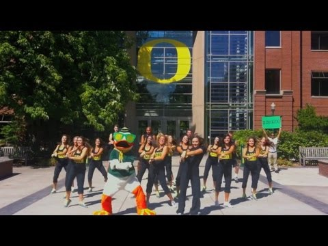GANGNAM STYLE PARODY (강남스타일) - The Oregon Duck