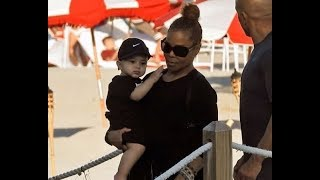Janet Jackson's Baby Son Eissa's, looks like his father!