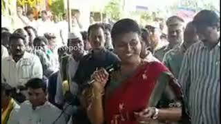 MLA Roja appreciates TDP Minister, TDP MP..