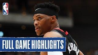 RAPTORS at ROCKETS   Harden and Westbrook drop 22 each in Tokyo   NBA Japan Games 2019