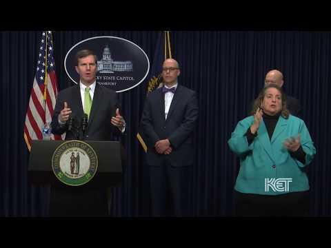 Gov. Andy Beshear March 13 9:00 a.m. Update | Coronavirus | KET