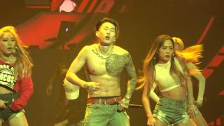 160213 박재범 Jay Park - 뻔하잖아(U KNOW) Break Dance Mommae Remix (AOMG Concert)
