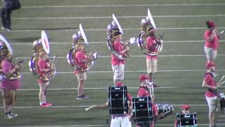 'Halftime Performance (9.1.16) - Pride of the Plains Marching Band