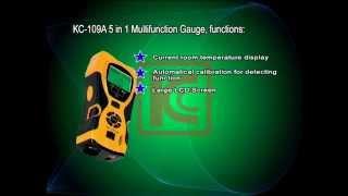 NDI 5in1 Super Machine 109A Distance Meter / Stud finder / Laser Level