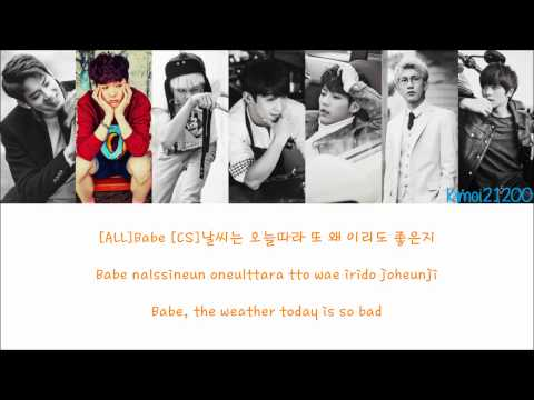 BTOB - Beep Beep (뛰뛰빵빵) [Hangul/Romanization/English] Color & Picture Coded HD