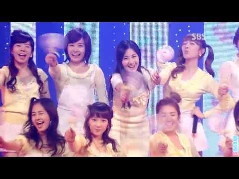 소녀시대(SNSD) - kissing you (stage mix)