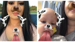My Baby Communicated With Me Through Snapchat Filter!!!