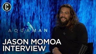 Aquaman: Jason Momoa Interview