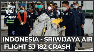 Body parts, debris found at Siriwajaya Air plane crash site