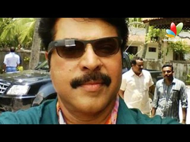 Mammootty is now the owner of Google glass I Latest Malayalam Movie News