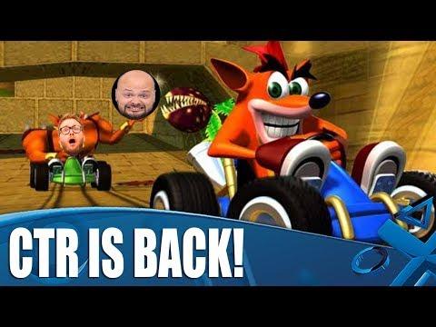 Nitro-Fueled Nostalgia - Original Crash Team Racing Gameplay