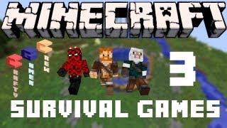 "Minecraft Survival Games Match 3 ""CGC CREW"" w/ PatrickG54 & Jedifightbad (HD)"