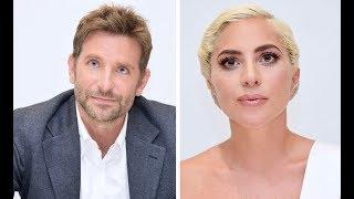 Bradley Cooper and Lady Gaga on