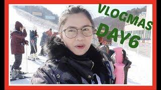 VLOGMAS Day6: Nag-Ski Sa Snow + Susyal na Market! (Dec 6, 2017.) | Anna Cay ♥