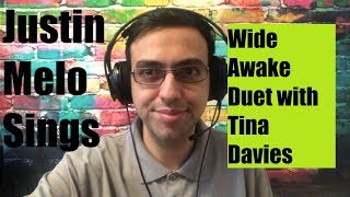 Justin Melo Sings:  Wide Awake Piano Cover Duet with Tina Davies