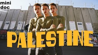 A HUGE BORDER WALL, THE BANKSY HOTEL, THE DEAD SEA, AND MORE IN PALESTINE (short doc)