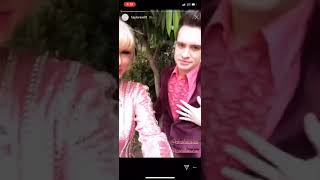 Taylor Swift and Brendon Getting Ready for The Voice Finale!
