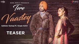 Tere Vaastey – Teaser –  Satinder Sartaaj