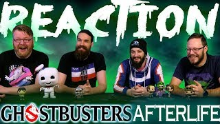 GHOSTBUSTERS: AFTERLIFE - Official Trailer REACTION!!