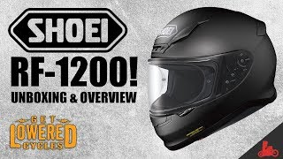 NEW Shoei RF-1200 Motorcycle Helmet: Unboxing & Overview