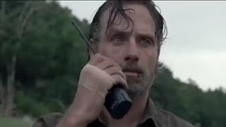 The Walking Dead 8x10 Ending Scene - Rick Tells Negan About Carl's Death