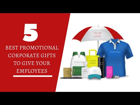 5 Best Promotional Corporate Gifts To Give Your Employees