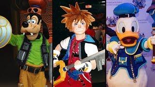 Evolution of Kingdom Hearts In Disney Parks! DIStory Ep. 21- Disney Park History!
