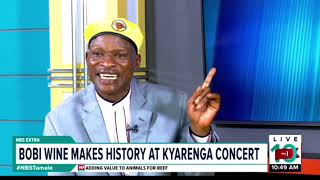One on One With Tamale Mirundi: Bobi Wine makes History at Kyarenga Concert
