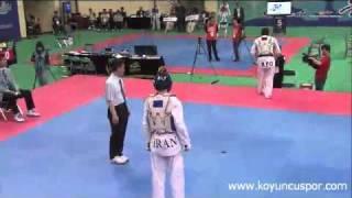 68kh Bagheri Motamed Mohammed (IRI) vs (AFG) Rohullah Nikpaa