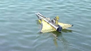 rc seadart (failed takeoff)