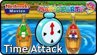 Mario Party 9 - Time Attack (Mario VS Yoshi)