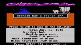 The Oregon Trail Completed