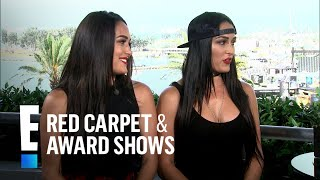 """Bella Twins Play """"Sister or Mister"""" Game   E! Red Carpet & Award Shows"""