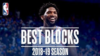 Joel Embiid's Best Blocks | 2018-19 Season | #NBABlockWeek